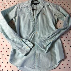 Ralph Lauren Slim Fit Long Sleeves Shirt